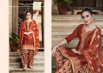 Kessi Fabrics Kalaroop Rivaaz By Patiyala Vol-5 11001-11010 Series
