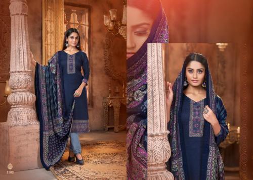 Mrigini Pashmina Collection 1102 Price - 595