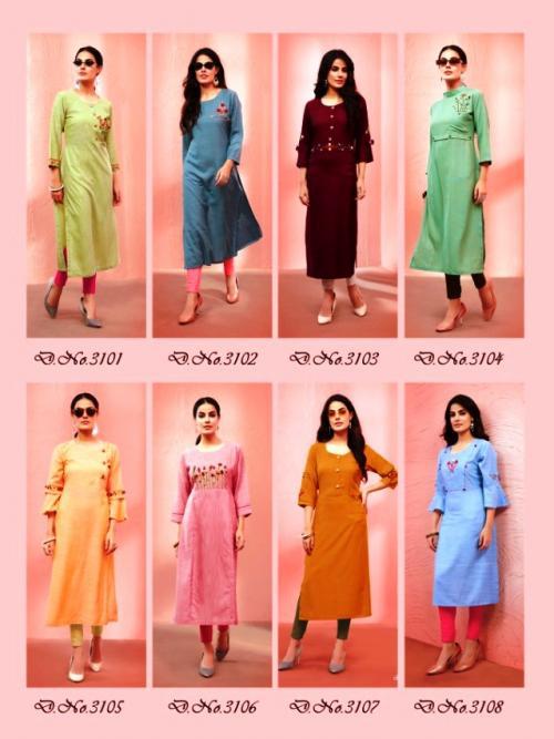 Vitara Fashion Steller 3101-3108 Price - 3992