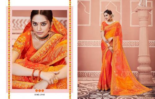 Kessi Fabrics Bandhej 2142