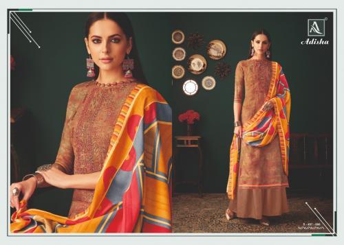 Alok Suits Adisha 457-008 Price - 775