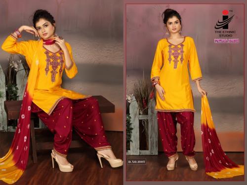 The Ethnic Studio Patiyala Babes 1002 Price - 725