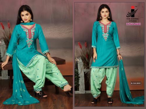The Ethnic Studio Patiyala Babes 1007 Price - 725