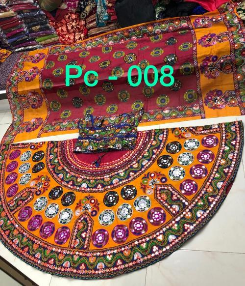 Designer Navratri Special Lehenga Choli PC-008 PC-014 Series