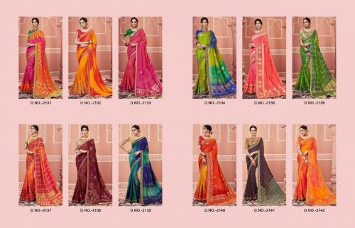 Kessi Fabrics Bandhej 2131-2142