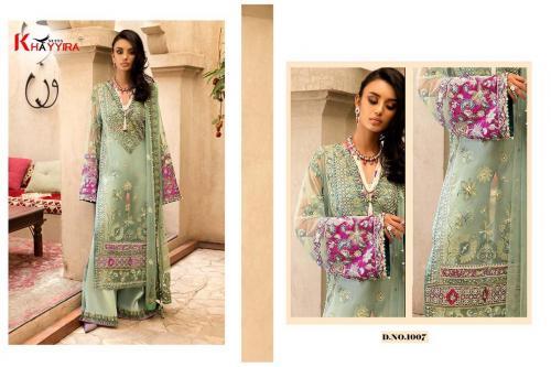 Khayyira Suits Festive 1007-1009 Series