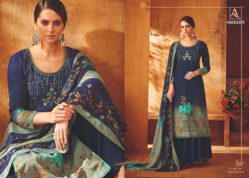 Alok Suit Shireen wholesale Salwar Kameez catalog