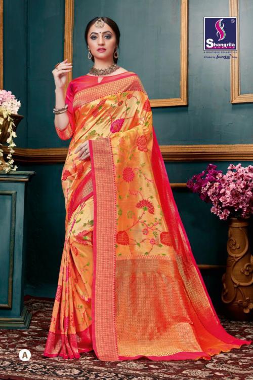 Shangrila Saree Sahastram Silk A-F Series
