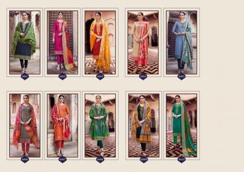 Kessi Fabrics Aabhushan 6001-6010 Price - 9990