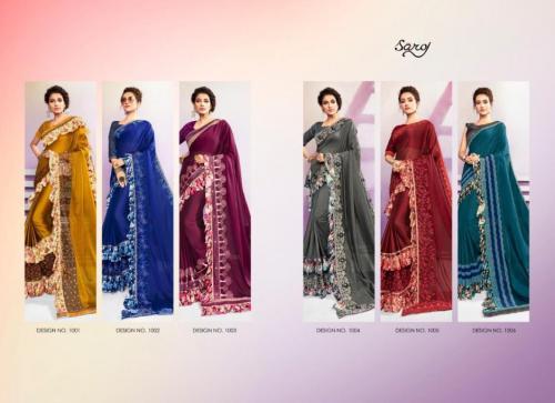 Saroj Saree Tani Bani 1001-1006 Price - 7770