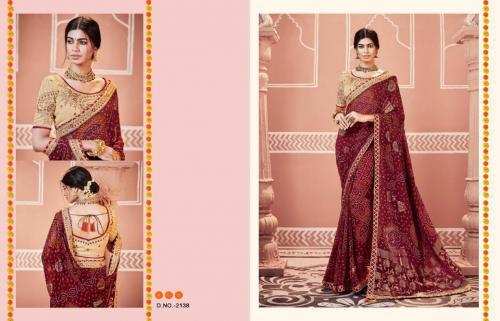 Kessi Fabrics Bandhej 2138