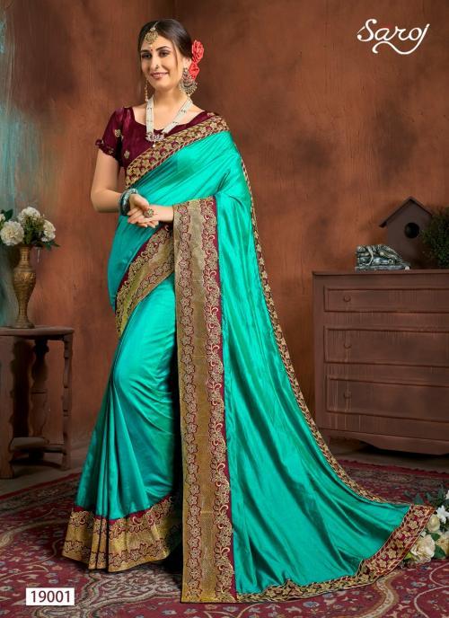 Saroj Saree Kalyani 19001-19006 Series