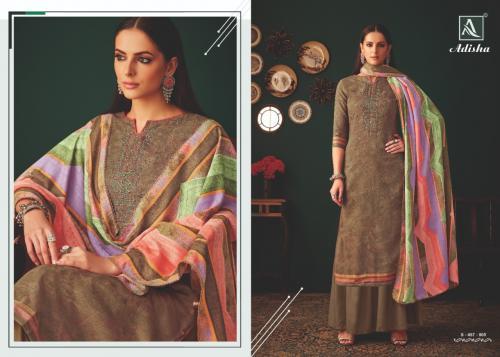 Alok Suits Adisha 457-005 Price - 775