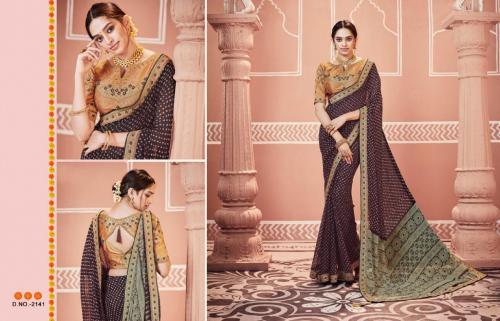 Kessi Fabrics Bandhej 2141