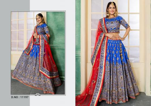 Peafowl Bridal Collection 11197 Price - 2422