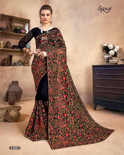 Saroj Saree Fashion World Vol-2 43001-43006 Series