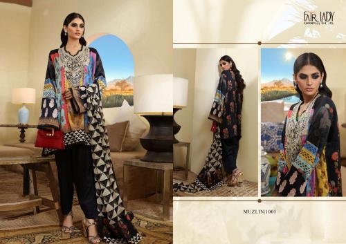 Mumtaz Arts Fair Lady Muzlin SS1001 Price - LAWN Dupatta - 829 , CHIFFON Dupatta - 799