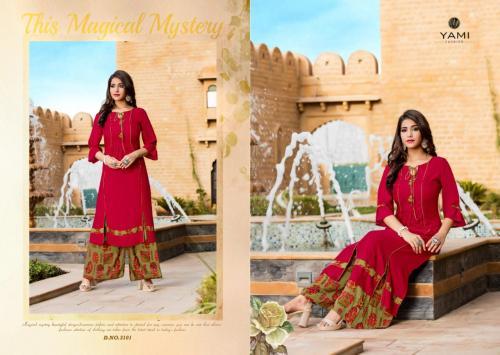 Yami Fashion Gerua Vol-4 3101-3108 Series