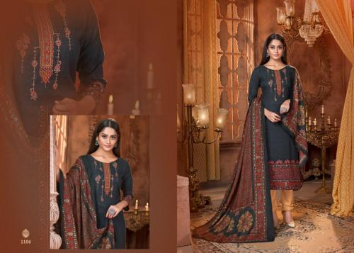 Mrigini Pashmina Collection 1104 Price - 595