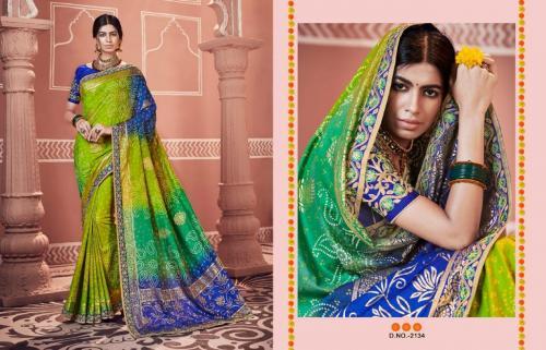 Kessi Fabrics Bandhej 2134