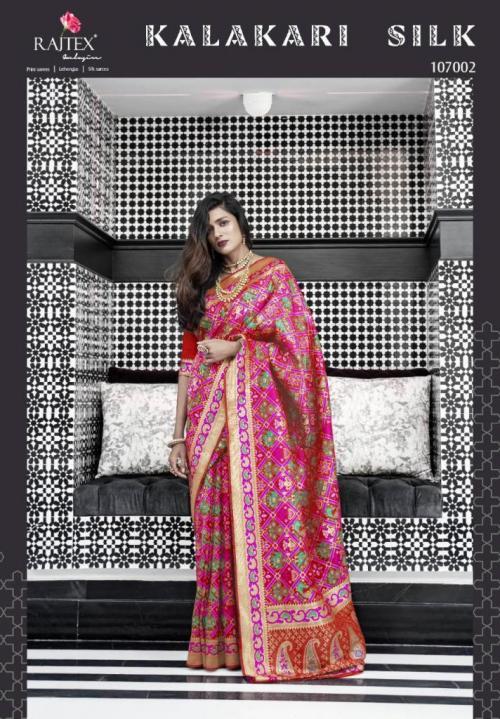 Rajtex Saree Kalakari Silk 107002 Price - 3035