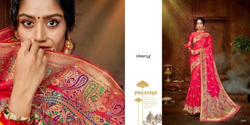Lifestyle Saree Purva 63481-63486 Series