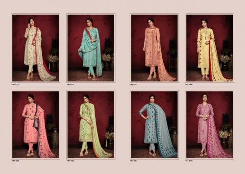 Sargam Prints Kashish 147-001-147-008 Price - 4520