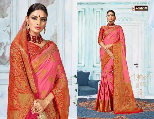 Sangam Prints Patto Jari Silk 1001-1006 Series