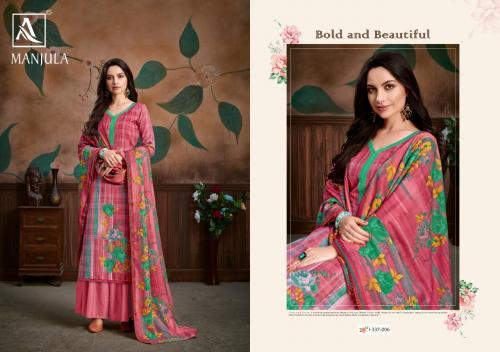 Alok Suits Manjula 337-006 Price - 580