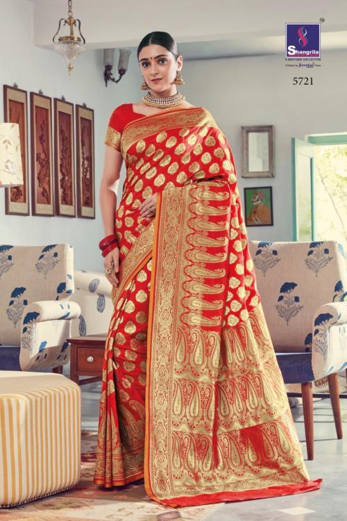 Shangrila Saree Sulakshmi Silk 5721-5726 Series