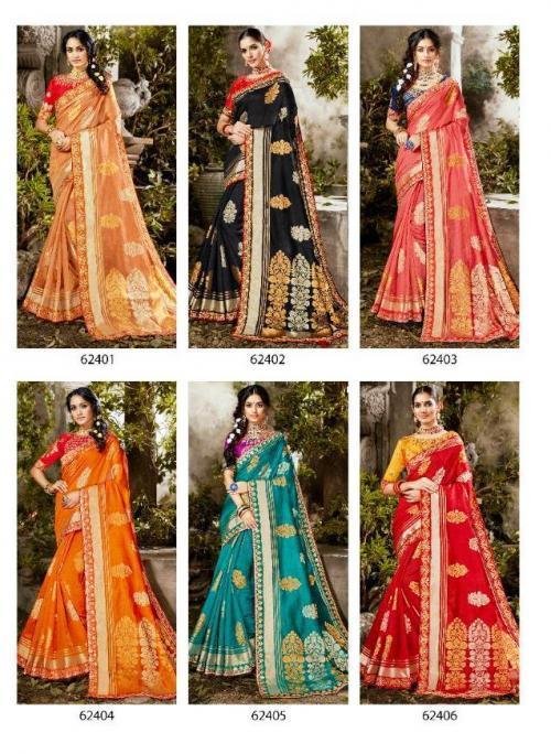 Lifestyle Saree Roopwati 62401-62406 Price - 8772