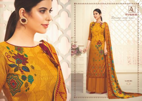 Alok Suits Pankhuri 440-001-440-008 Series