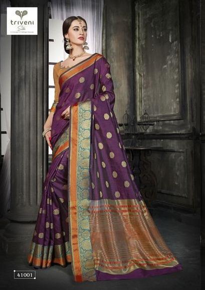 Triveni Saree Girja 41001-41008 Series
