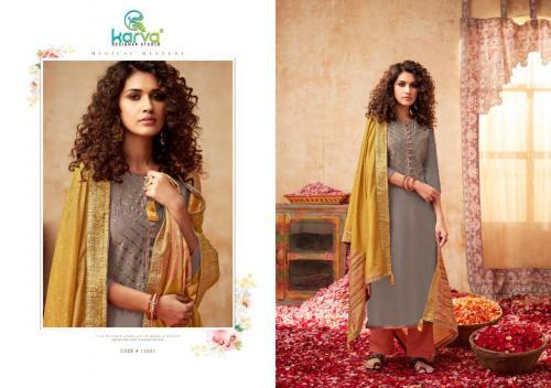 Karva Pashmina Rose Gold 15001-15006 Series
