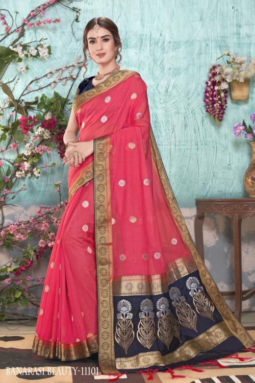 Varsiddhi Fashion Mintorsi Banaras Beauty 11101-11114 Series
