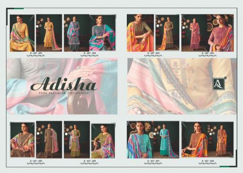 Alok Suits Adisha 457-001-457-008 Price - 5400