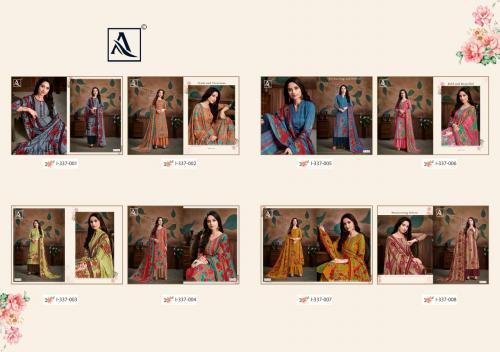 Alok Suits Manjula 337-001-337-008 Price - 3840