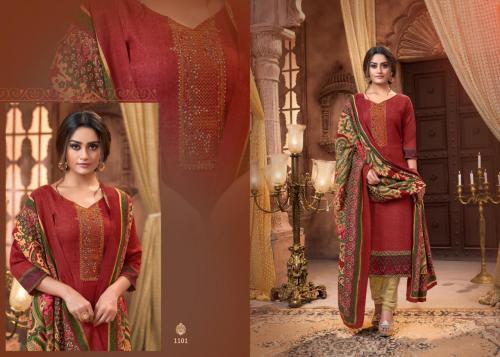 Mrigini Pashmina Collection 1101 Price - 595