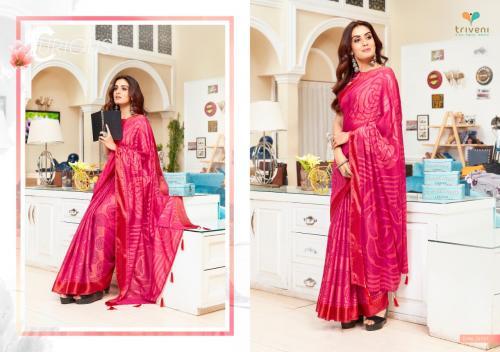 Triveni Saree Bella 25131 Price - 975