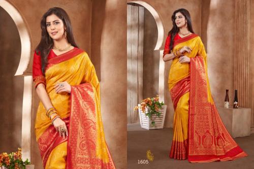 Jyotsana Saree Kanjivaram Silk 1605 Price - 2250