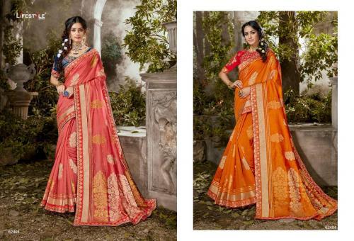 Lifestyle Saree Roopwati 62403-62404 Price - 3124