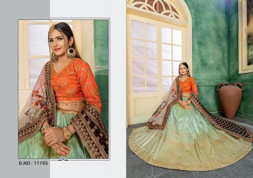 Peafowl Bridal Collection 11193 Price - 2422