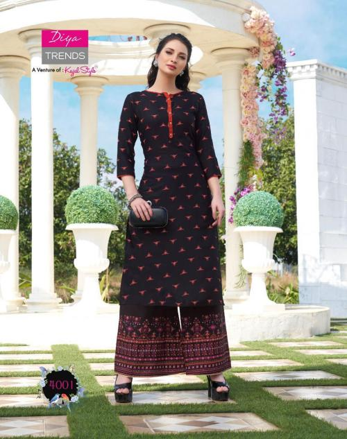 Diya Trends Biba's Vol-4 wholesale Kurti catalog