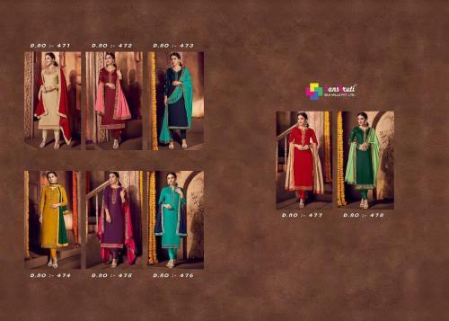 Sanskruti Kishana 471-478 Price - 7160