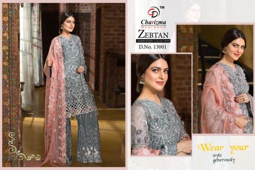 Charizma Designer Ramsha Noor  Collection 13001-13006 Series