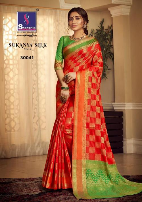 Shangrila Saree Sukanya Silk Vol-2 30041-30050 Series