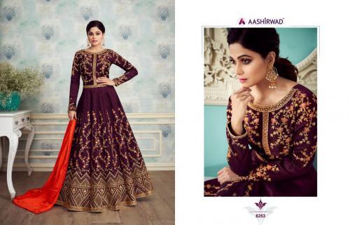Aashirwad Creation Royal Silk 8253-8257 Series