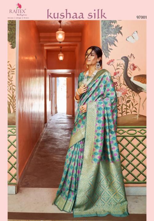 Rajtex Saree Kushaa Silk 97001-97007 Series