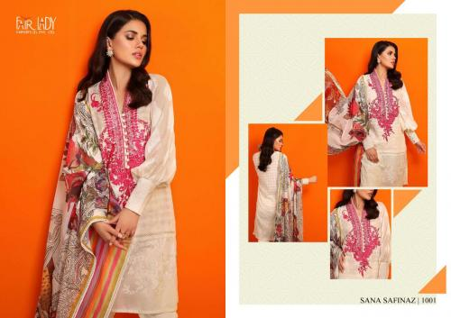 Mumtaz Arts Fair Lady Sana Safinaz Lawn Vol-19 1001-1005 Series