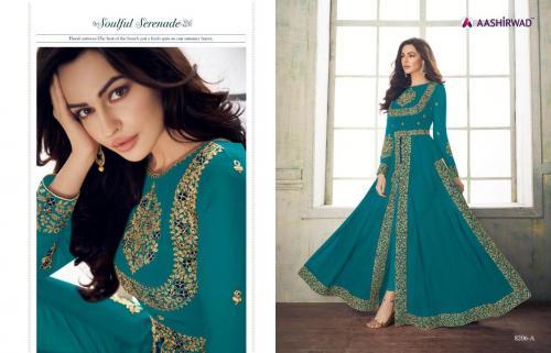 Aashirwad Creation Anaya Gold 8206 Colors